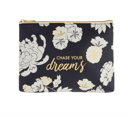 Chase Your Dreams Cosmetic Bag