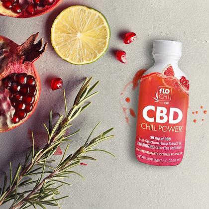 CBD Chill Power Energy – Pomegranate Citrus with 30mg CBD