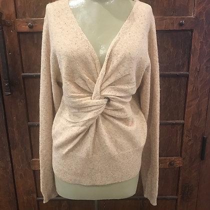 Reversible Twist Sweater