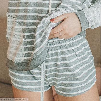 Left Field Striped Shorts