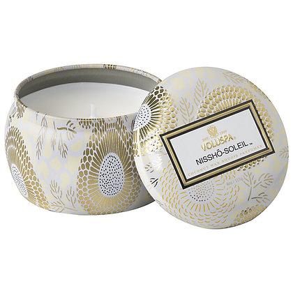 Voluspa Nissho Soleil Mini Tin Candle