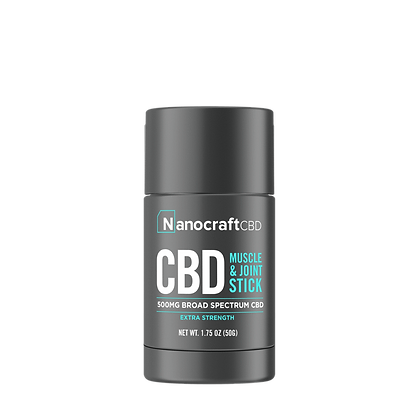 NanoCraft CBD CBD Pain Salve Stick (EXTRA STRENGTH) 500mg