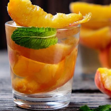 CBD Iced Tea | Sweet Peach Green Tea | 30mg CBD