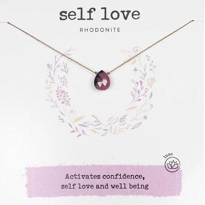 Self Love Rhodonite Necklace