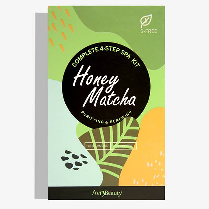 4 Step Honey Matcha Mani Pedi Kit