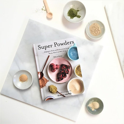 Super Powders: Adaptogenic Herbs and Mushrooms for Energy, Beauty, Mood, and Wel