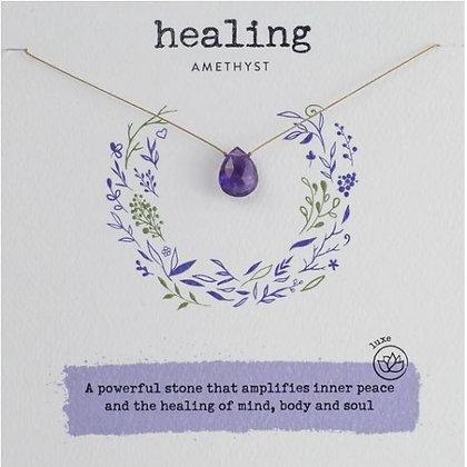 Healing Amethyst Necklace