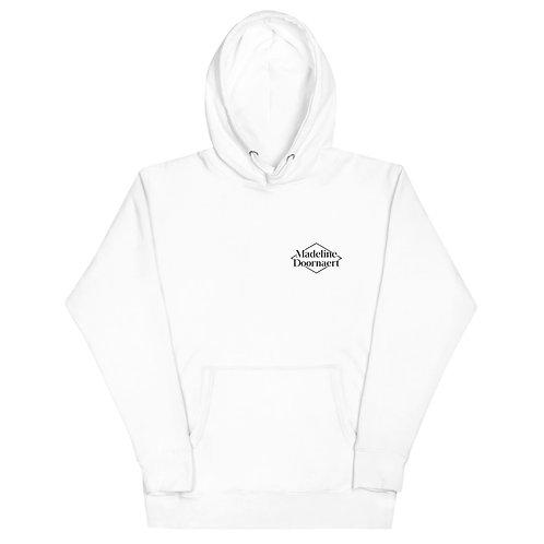 Madeline Doornaert (#004) - White Unisex Hoodie