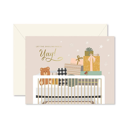 Spoiling Baby Greeting Card