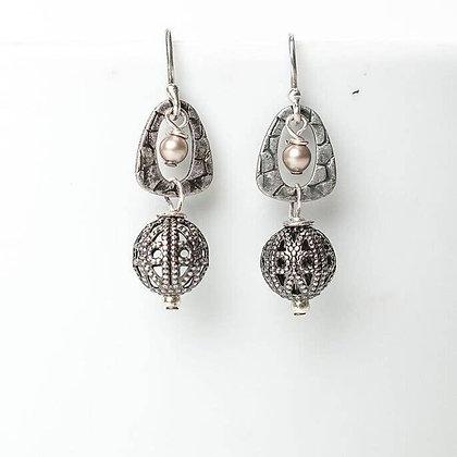Windsor Castle Crystal Teardrop Dangle Earrings