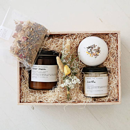 Calming Waters Curated Gift- Among the Flowers