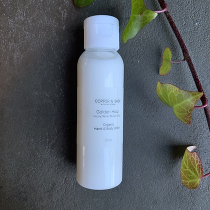 Golden Hour Organic Hand and Body Lotion