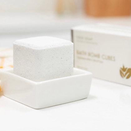 Eucalyptus Mint Bath Bomb Cube Set