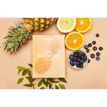 Oh Glow On Sheet Masks - 3 Pack