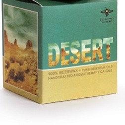 Desert Glass Candle