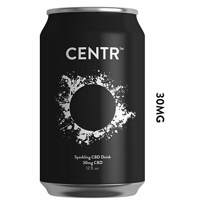 Centr Sparkling Drink 30mg CBD 6 Pack