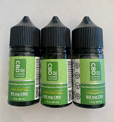 CBD 1oz Hand Sanitizer (one)