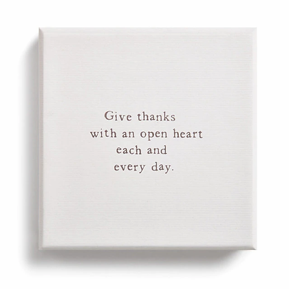 Give Thanks Note Cards Set of 24