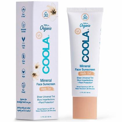 Mineral Face Organic Matte Tint Sunscreen Lotion SPF 30