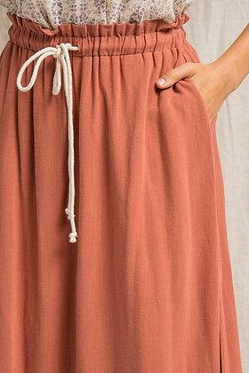 Jenny Pocket Drawstring Skirt