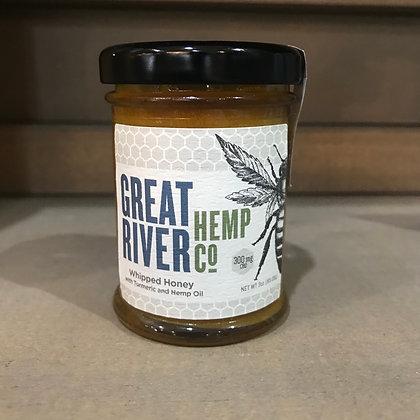 300mg CBD Whipped Turmeric Honey