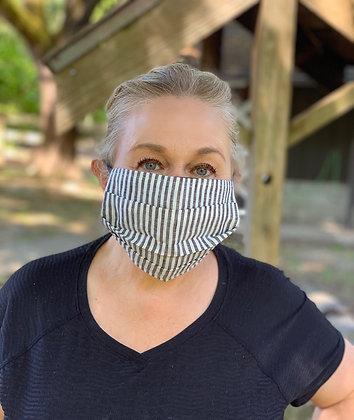 Reversible Unisex Pleated Face Mask - Kynsho