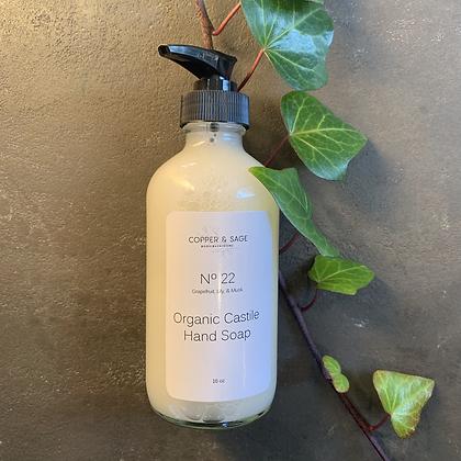 No.22 Organic Castile Hand Soap