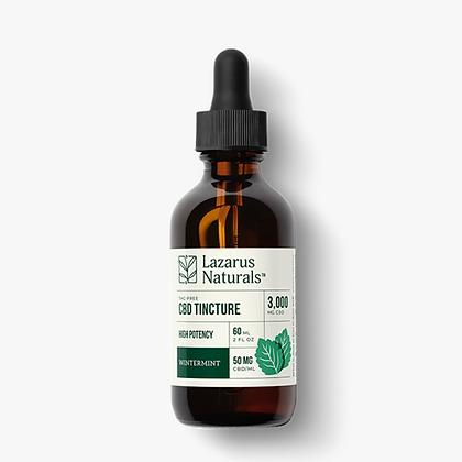 THC Free Wintermint High Potency Tincture