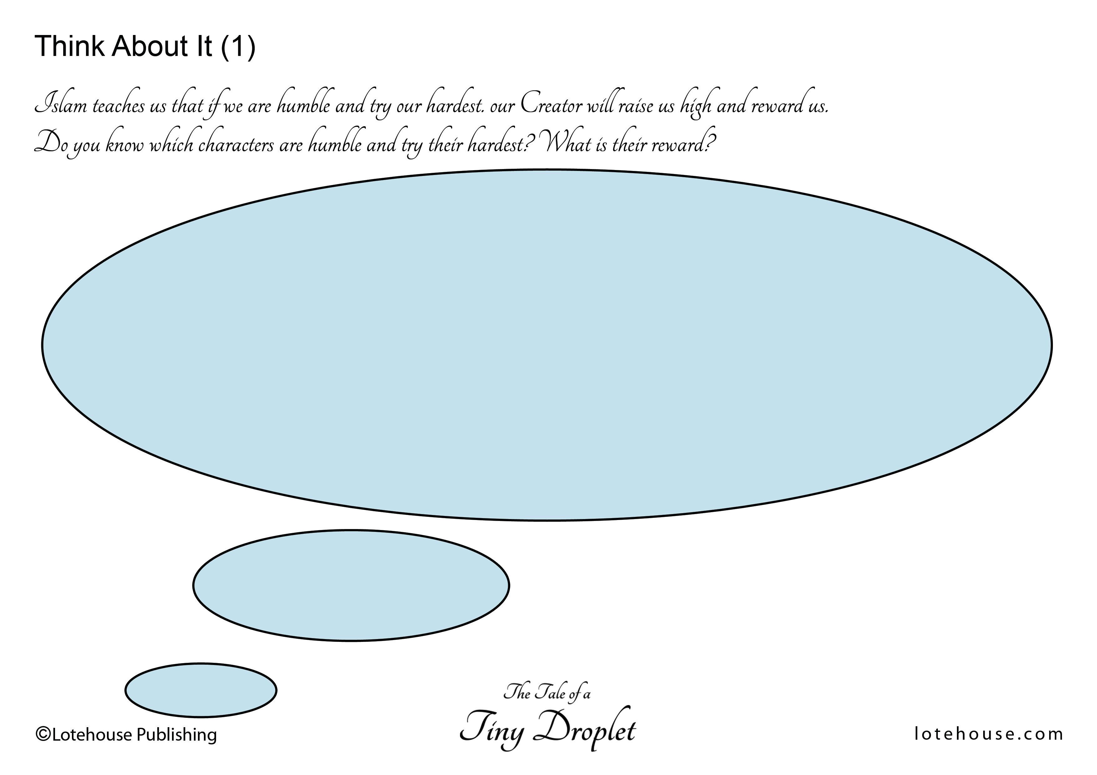 Think Activity 1_Tiny Droplet