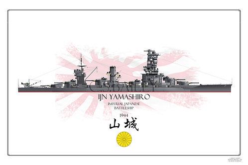 IJN Yamashiro Print