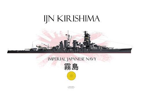 IJN Kirishima t-shirt