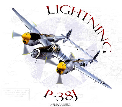 P-38 Lightning Happy Jack's Go Buggy
