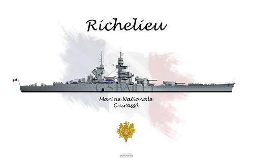 Richelieu light grey t-shirt