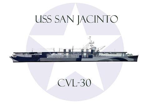USS San Jacinto CVL-30