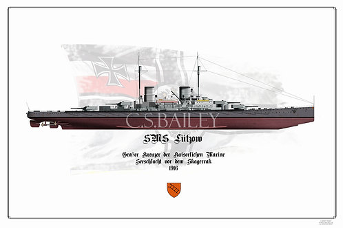 SMS Lutzow FH print