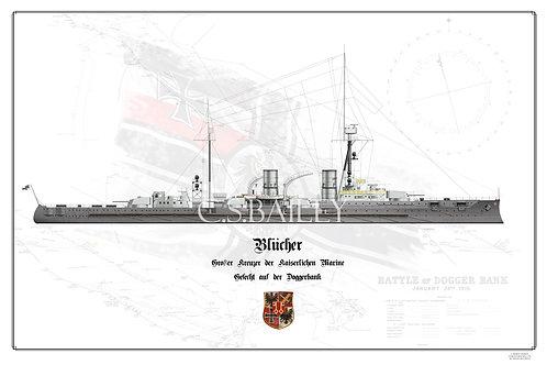 SMS Blucher WL print