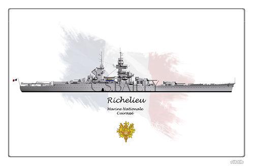 Richelieu Early WL Print