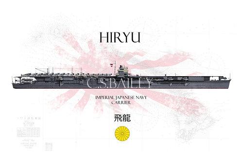 IJN Hiryu Pearl Harbor WL T-Shirt