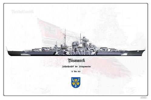 Bismarck Baltic Camo Half WL print
