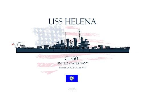 USS Helena t-shirt