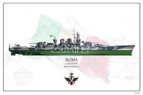 Roma FH Print