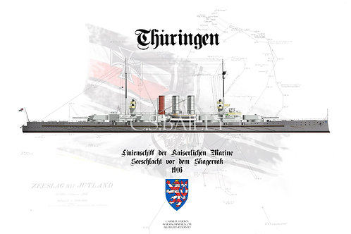 SMS Thuringen WL t-shirt