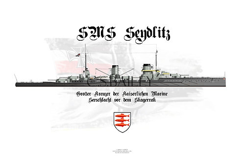 SMS Seydlitz WL 1914 Special Edition