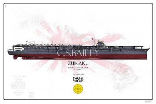 IJN Zuikaku Pearl Harbor Raid FH Print