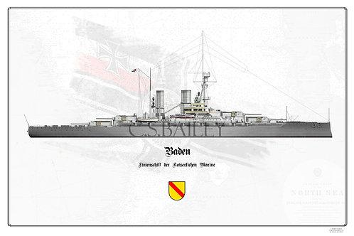SMS Baden WL print