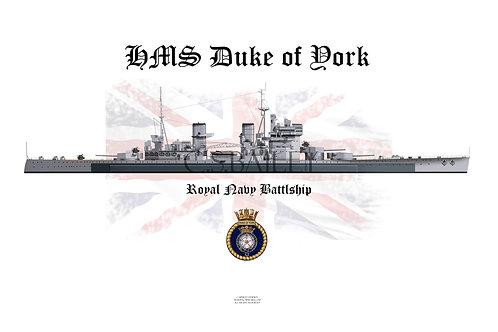copy of HMS Duke of York  W/L t-shirt