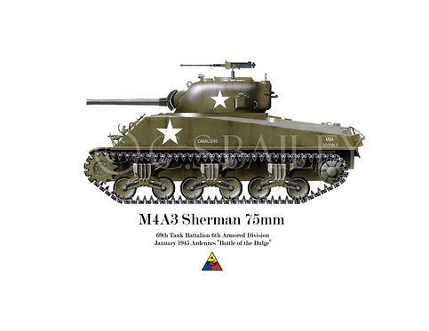 Sherman 75mm