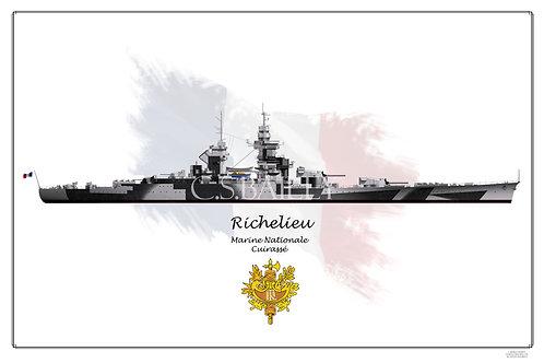 Richelieu Dazzle Dark WL print