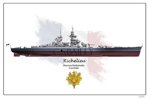 Richelieu MS 22 FH print