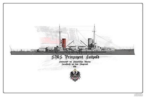 SMS Prinzregent Luitpold print
